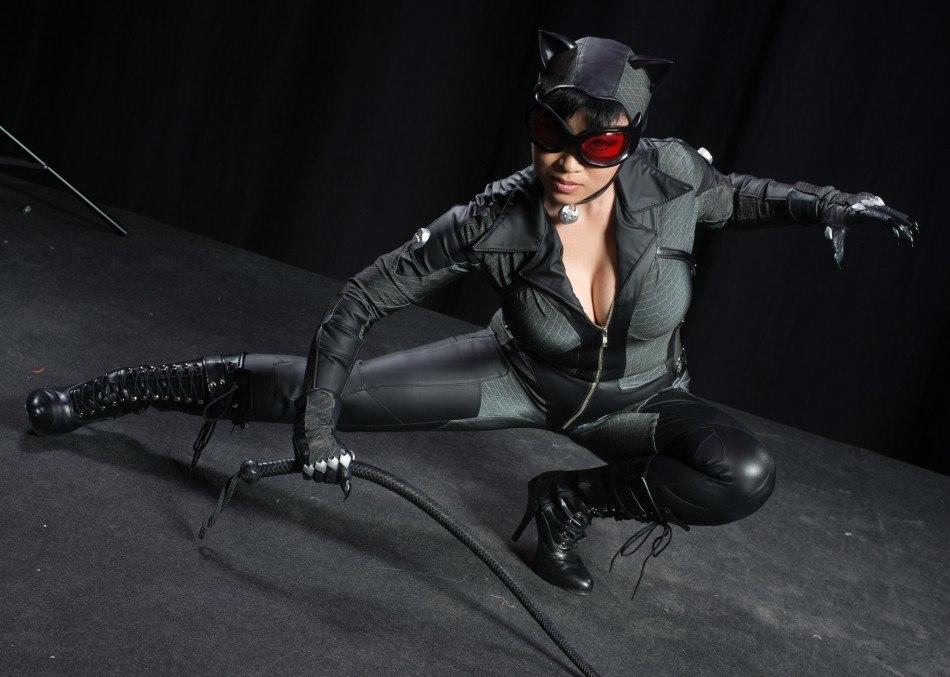 Catwoman Cosplay af Yaya Han