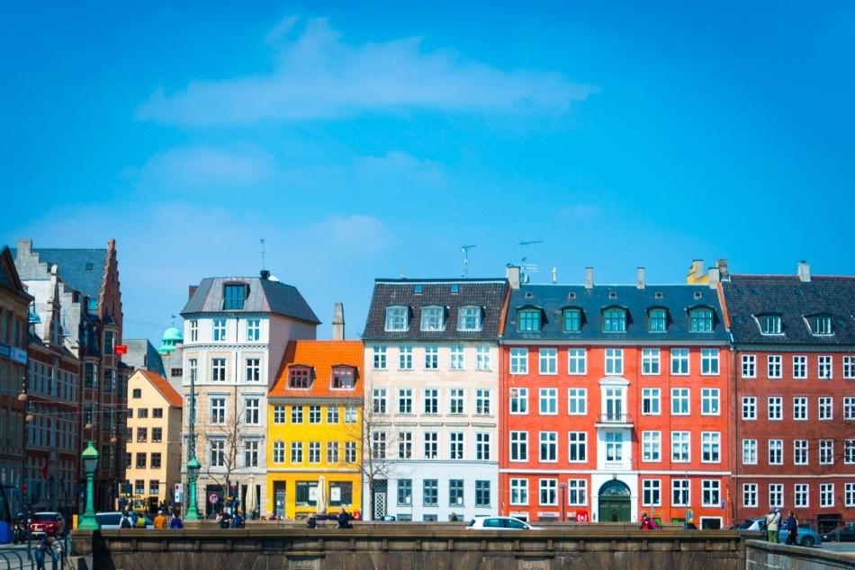 Københavnerhuse i Nybrogade