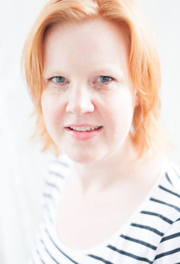 High-Key portraet af min kone Mette - Processed