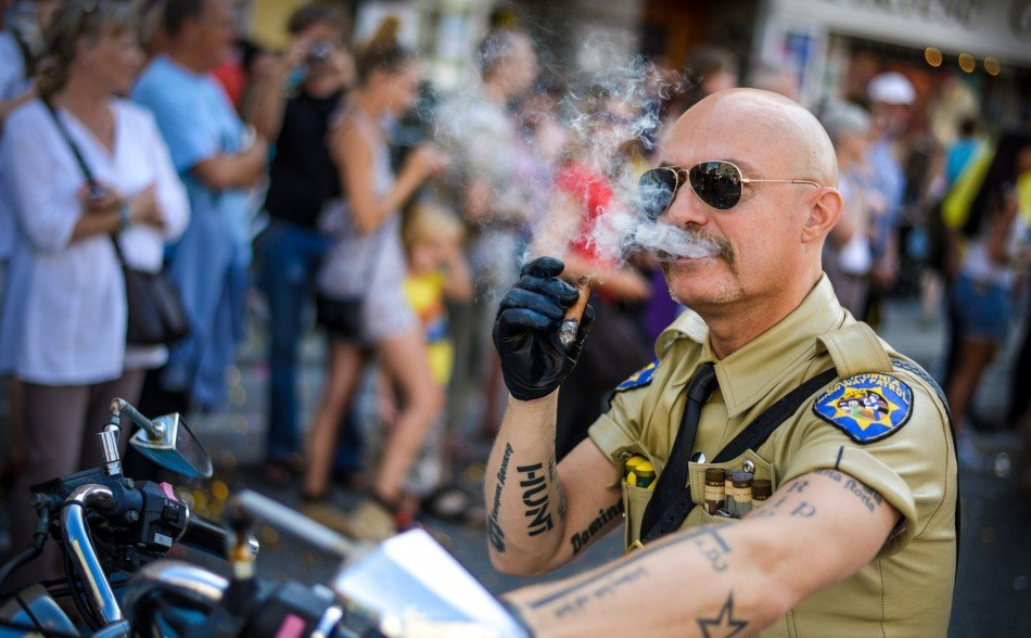 California Highway Trooper