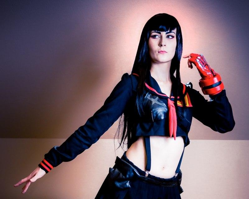 Satsuki fra Kill la Kill, cosplay af Toriiko