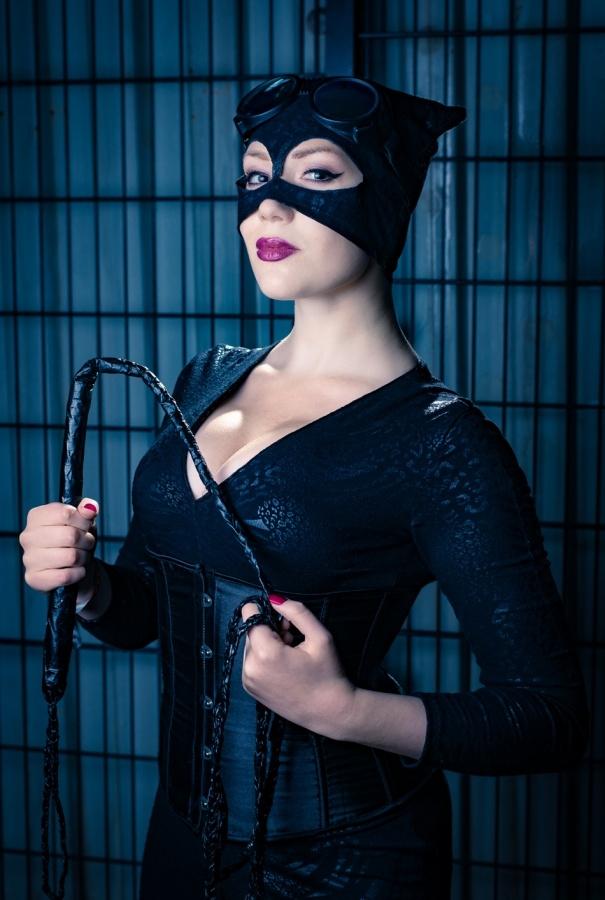 Cosplay fotoshoot med RebbKatt som Catwoman